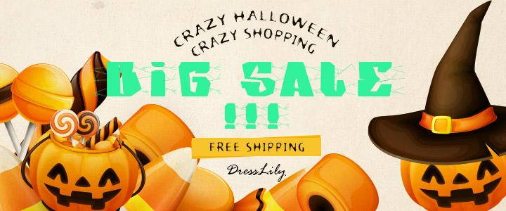 309624dc291 Dresslily Happy Halloween Sale - Tina Chic